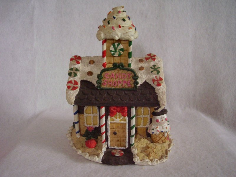 Resin Candy Shoppe Building