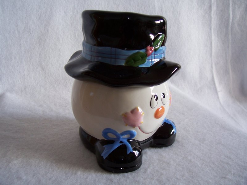 Snowman Cookie or Treat Jar