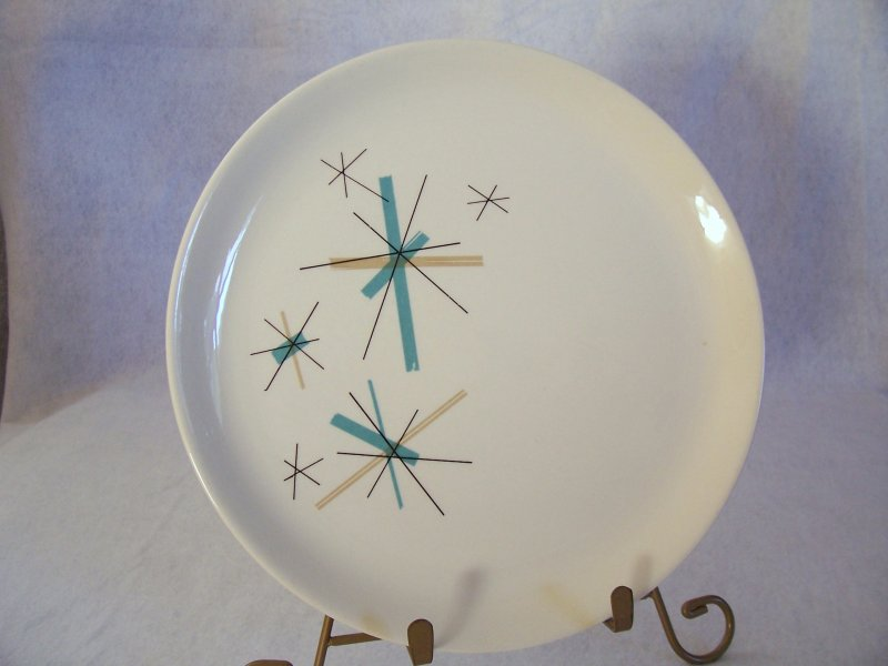 Eames Salem China North Star Dinner Plate Mid Century