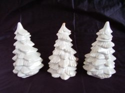 '.Small White Christmas Trees.'