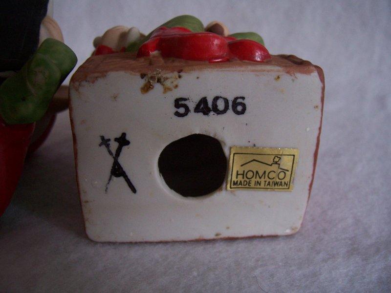 HOMCO Santa Elves 5406