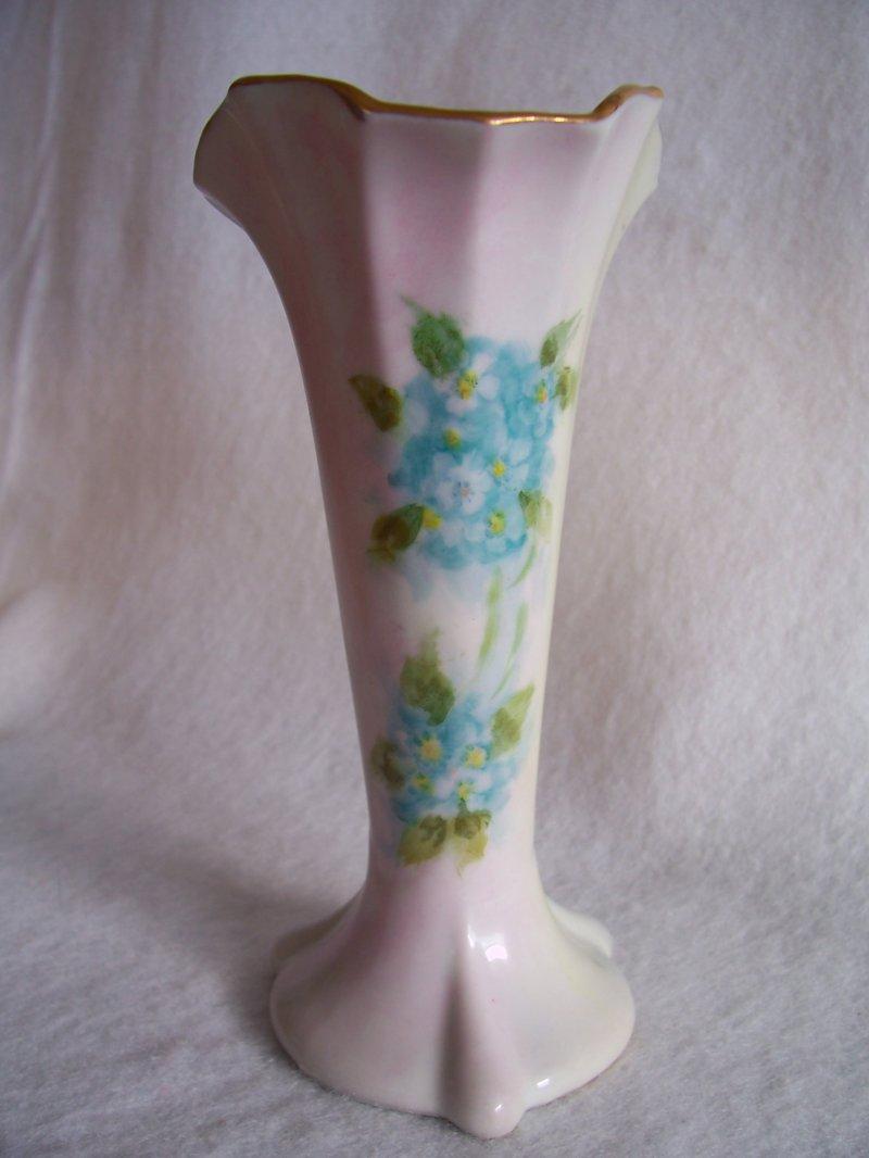 Forget Me Nots Porcelain Vase