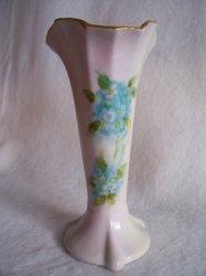 '.Forget Me Nots Porcelain Vase.'
