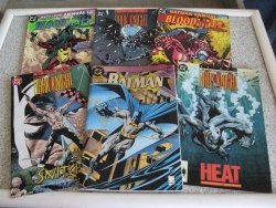 Lot of 6 Batman Legends of the Dark Knight Comic Books, 1993