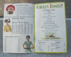 '.Knott's Berry Farm 1951 Menu.'