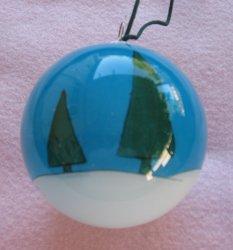 '.Christmas Ornament hand painte.'