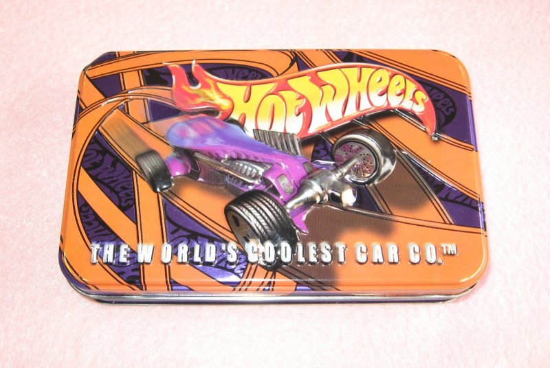 Hot Wheels Playing Cards In Collectible Tin 2 Decks