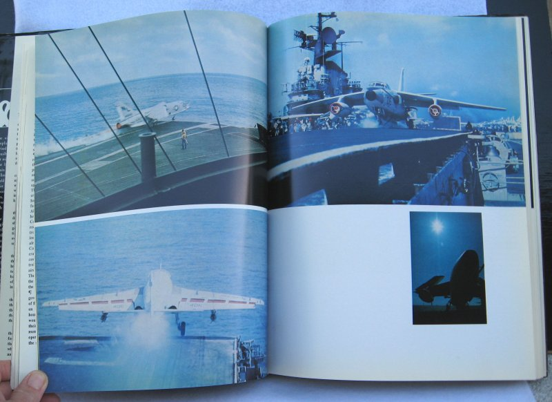 U.S.S. Coral Sea Cruise Book, CVA-43, 1968-1969 Vietnam Era