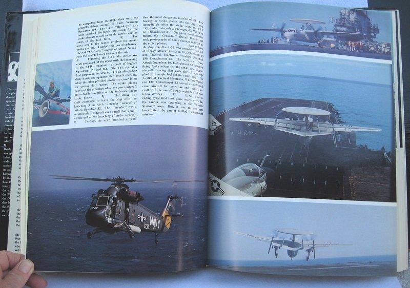 U.S.S. Coral Sea Cruise Book, CVA-43, 1968-1969 Vietnam Era