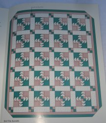 Slice of Pineapple Quilt Pattern with Actual Size Templates