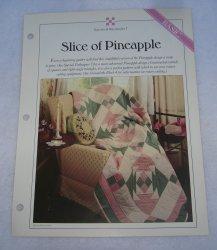 '.Quilt Pattern, Slice Pineapple.'