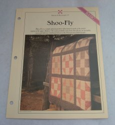 '.Quilt Pattern, Shoo Fly.'