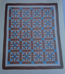 Honeybee, Quilt Pattern with Actual Size Templates