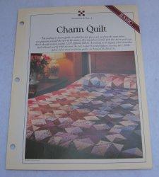 '.Quilt Pattern, Charm Quilt.'