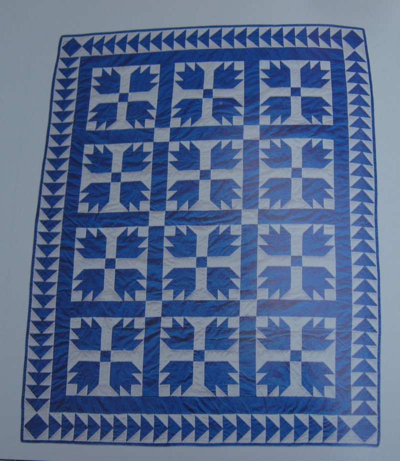 Bears Paw Quilt Pattern With Actual Size Templates