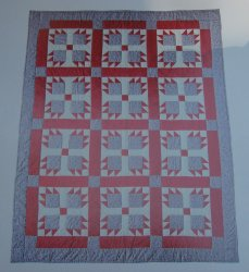 '.Quilt Pattern, Bears Paw.'