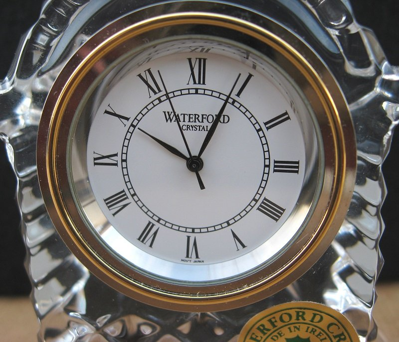 Waterford Crystal Small Carriage Clock New Made In Ireland