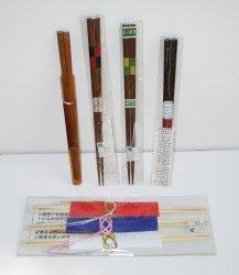 Chopsticks, 7 sets High Grade Decorative Wood, New
