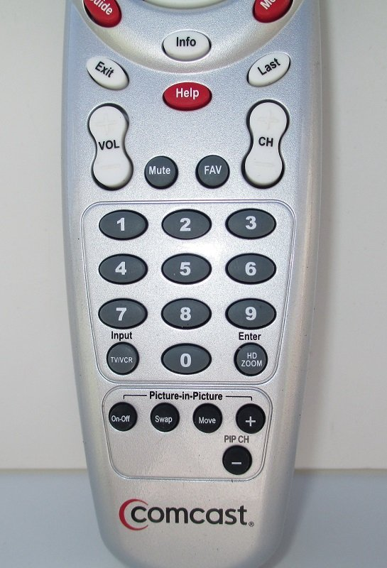 Comcast Custom 3 Device Remote Control, Factory Original