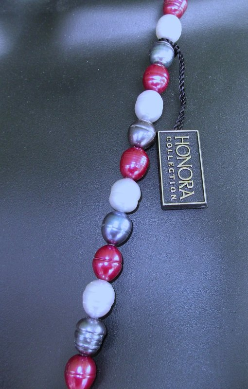 Honora 36 inch Freshwater Pearl Necklace 925 Clasp