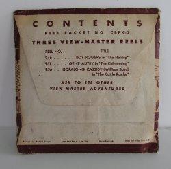 '.View Master Cowboys, 1953.'
