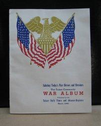 Tulare California Community War Album, WWII, March 1945