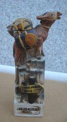 Cyrus Noble Mine, Empty Donkey Mini Liquor Bottle, Haas 1975