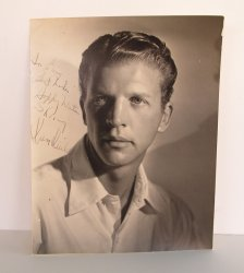 Dan Dailey 1940s-1950s Signed Autographed Photo