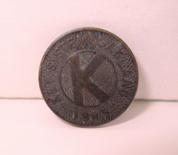 Oakland California Transit Token 1945