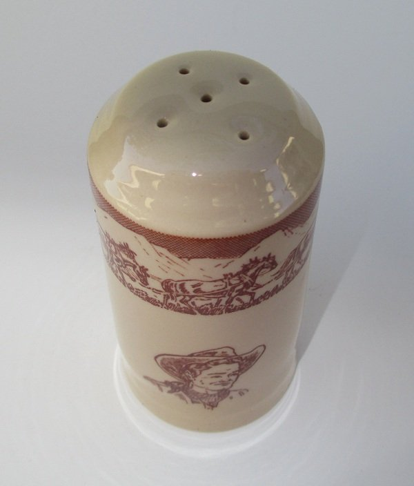 Vintage Western Cowboy Spice Shaker