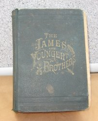 Illustrated Lives and Adventures Frank and Jesse James 1882
