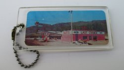 Last Chance Casino Reno 1950s - 60s Photo Key Chain