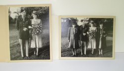 '.U.S. Serviceman and Bride.'