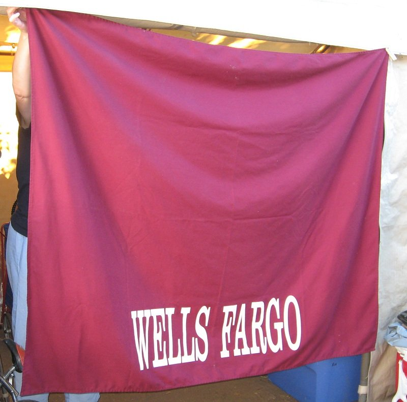 Wells Fargo Bank Tablecloth