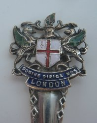 Domine Dirige Nos London EPNS Collectible Spoon