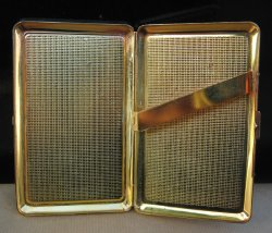 '.Enamel Cigarette Case.'