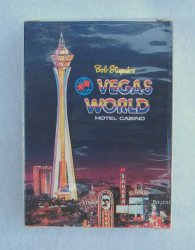 Bob Stupaks Vegas World Unopened Deck of Playing Cards