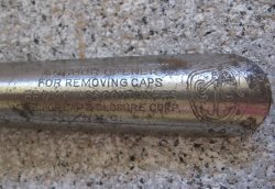 '.Anchor bottle cap remover.'