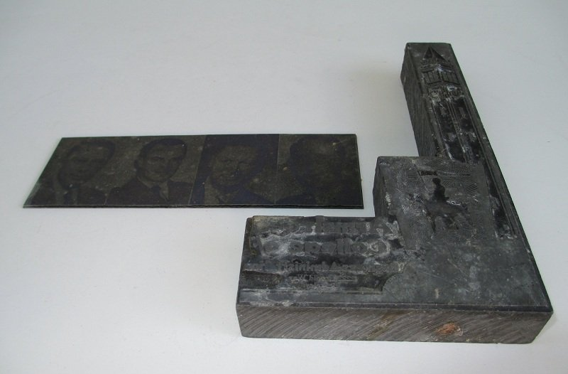 1950s Printing Plates