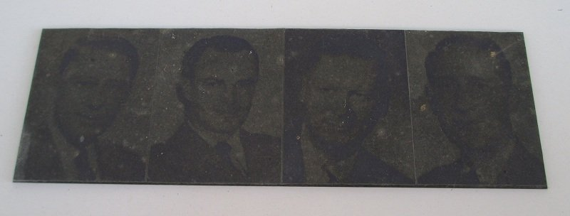 Armstrong College, Berkeley California 1950s Printing Plates