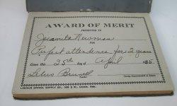 Iola Kansas, Memory Gems Book, 1935 Juanita Newman