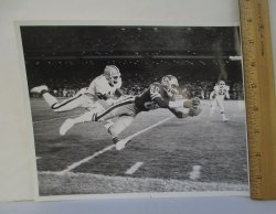 San Francisco 49ers Jerry Rice Real Game Action Photo
