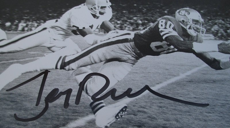 San Francisco 49ers Jerry Rice 11x14 Autographed Press Photo