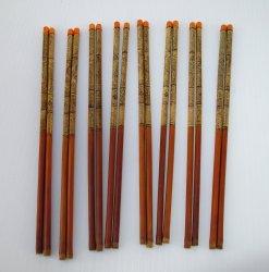 Chopsticks, 8 pr High Quality Design Wood. Never used