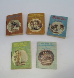 Beatrix Potter, Set of 5 Miniature Books, Boxed