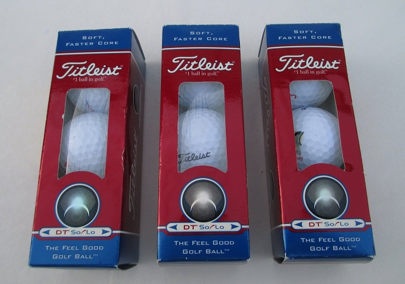 Titleist Humorous Golf Balls, Heads Down