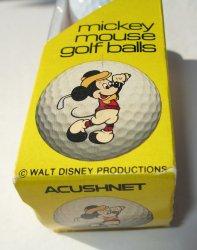 Disney Mickey Mouse Titleist Golf Balls, Pk of 3