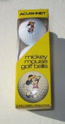 '.Disney Mickey Mouse Golf Balls.'