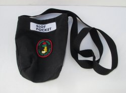 Ormsby House Slot Pocket Shoulder Pouch, Carson City NV