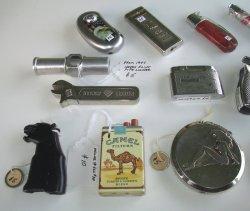 '.14 Older Lighters 1940s-2000s.'